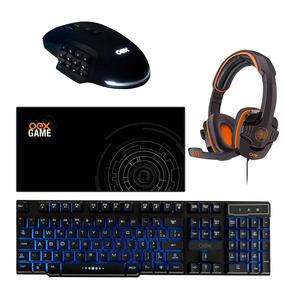 Kit Gamer De Rico Tc201 + Hs203 + Ms314 + Mp303