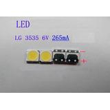 Led Iluminación Trasero Lcd Lg 6v 2w 3535 Luz Blanco Frio