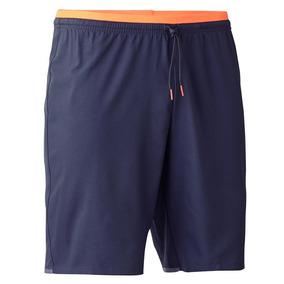 Pantalón Corto De Fútbol Para Adulto F500 Gris Naranja f1c6937db035d