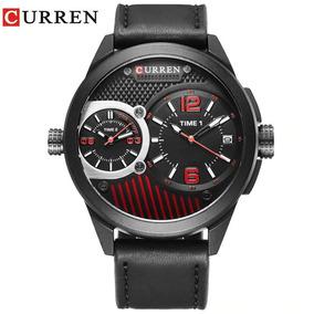Relógio Masculino Curren Original 8249 Dual Time