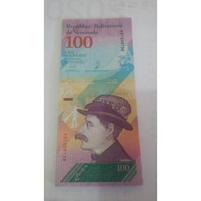 Cédula De 100 Bolivares Soberano Fe.