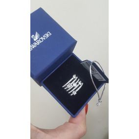 7c5122ac719d9 Anel Swarovski Nirvana Azul Nº 55 (usa) 15 (bra) - Anéis com o ...