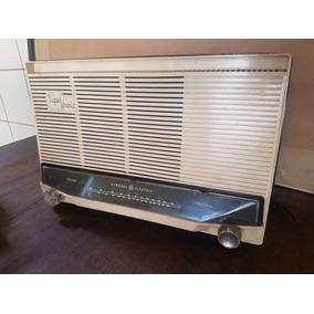 Rádio Valvulado Ge General Eletric 02 Faixas - Funcionando