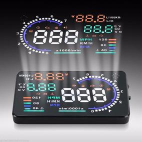 Velocímetro Digital Hud A8 Display 5.5 Obd2 Obdii Velocidade