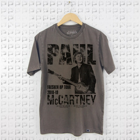 Camiseta Bigzóio - Rock - Paul Mccartney - Estonada