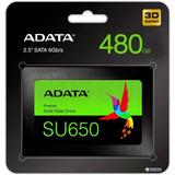 Disco Duro Ssd 480gb Adata Su650 Asu650ss-480gt-c Laptop Pc