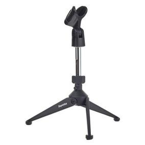 Pedestal Suporte De Mesa Para Microfone Hm6 Superlux