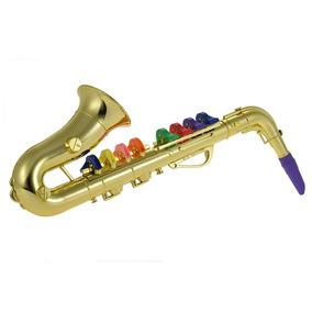 Saxófono Saxófono Juguete Musical Instrumento Regalo