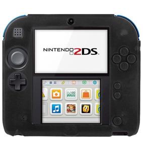 Funda Silicon Nintendo 2ds + Micas Protectoras