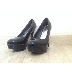 Zapatos Tacón Zapatos Con Negros Con TqZvqpdUWF