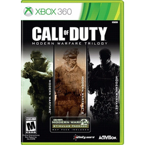 Call Of Duty Modern Warfare 1, 2 E 3 Xbox 360 - Digital