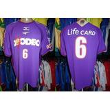 Sanfrecce Hiroshima 2004-05 Camisa Titular Gg Número 6.