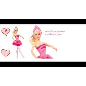 5beb58f9e4 Barbie E As Sapatilhas Magicas Bailarina Gisele Mattel - Brinquedos ...
