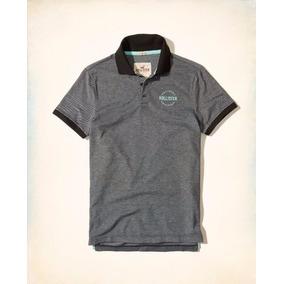 587be47b86033 Camiseta Polo Hollister Abercrombie Masc Original Tam G Cz c