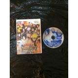 Juego Nintendo Wii Naruto Shippuden Ninja Taisen Ex 2