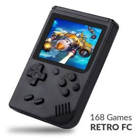 Mini Video Game Portátil Console Retro De168 Jogos Tela 3,0
