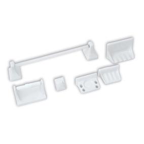Ccesorios Para Baño 6 Piezas Blanco