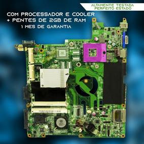 Placa Mãe Positivo Premium P437b 4gb Ram + Cooler,processado