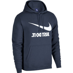 Moletom Nike Hoodie Masculino Azul 8265bddd80c8b