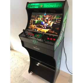 Arcade Bartop Fliperama 17 Mil Jogos Monitor 24 Wecad