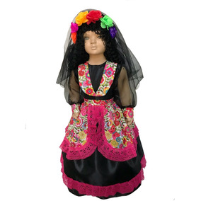 ceb6da55c2342 Disfraz De Catrina - Disfraces en Mercado Libre México