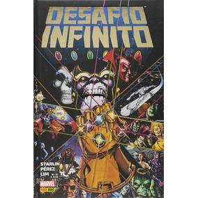 Desafio Infinito - Jim Starlin. (capa Dura).