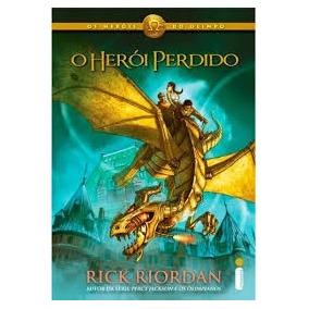 Livro Da Saga Os Heróis Do Olímpio - O Herói Perdido
