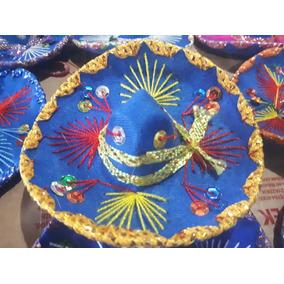 35 Sombrero Charro 12cm Adorno Fiesta Mexicano Centro Mesa a23f0c380d5