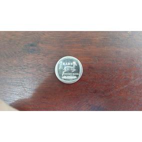 Moeda 1 Rand 2009 Africa Numismática Coleção Decoração