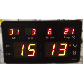 4739aa2507f Relogio Despertador De Parede - Relógios no Mercado Livre Brasil