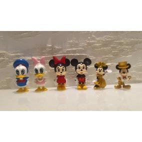 Mickey Mouse Minnie Pato Donald Margarida Bonecos Raros