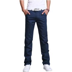 Pantalon Casual De Vestir Slimfit Skinny Envio Gratis 9color