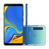 Galaxy A9 Azul, Com Tela De 6,3, 4g, 128 Gb