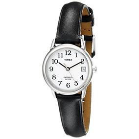 54a34cd986e9 Reloj Timex Para Mujer T2h331 Indiglo Con Correa De Cuero