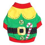 e9f136442184c Droolingdog Santa Claus Costume Puppy Playera De Dia Festivo