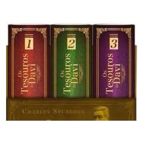 Os Tesouros De Davi Box 3 Livros Cpad Charles Spurgeon