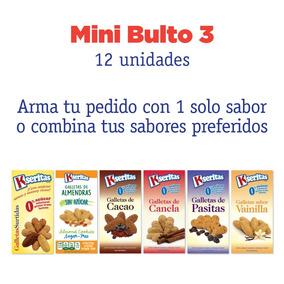 Mini Bulto (12 Unidades) Galletas Sin Azúcar Kseritas