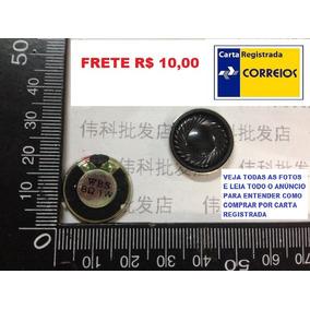 Mini Alto Falante 20mm 1w 8ohms Tablet,pc,mp3 Frete R$ 10,00