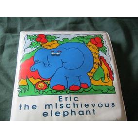 Livro Plastificado Do Elefante P/ Banho Do Bebe (ingles)