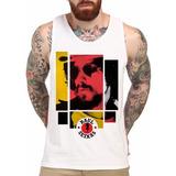Camiseta Raul Seixas Regata Branca Artistas E Bandas De Rock