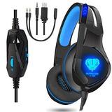 Stereo Gaming Headset Para Ps4 Pc Xbox One Juegos Gamer Over