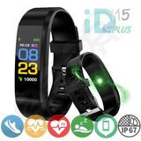 Smartband Id115 Plus, Tela Colorida, Pressão, Antilost, Ip67