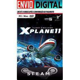X-plane 11 Pc -steam/original Offline Simulador De Vôo