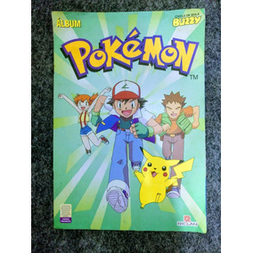 Album Pokemon Buzzy Riclan Incompleto Ano 2000