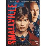 Box 6 Dvds Smallville - 5º Temporada Completa - Semi Novo***
