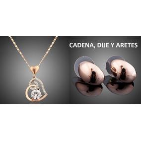 Swarovski Collar Dije Corazón + Aretes + Certif Envió Gratis