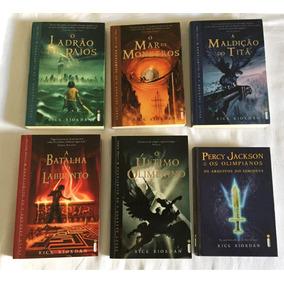 O Ladrão De Raios - 6 Livros