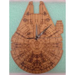 Relojes Con Diseños Exclusivos En Mdf De Star Wars