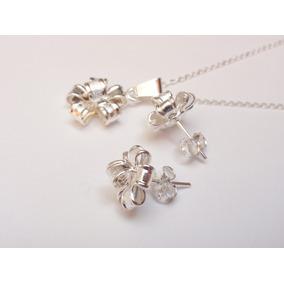 9e2c46452494 Collar Aretes Plata 925 - Joyas y Relojes en Mercado Libre México