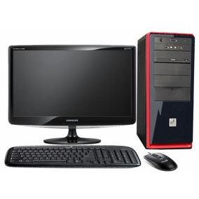 Computadora H61 Dual Core, Monitor 19 Hdd Video 4 Gb Ddr3